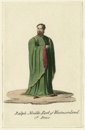 Costume design for Earl of Westmoreland