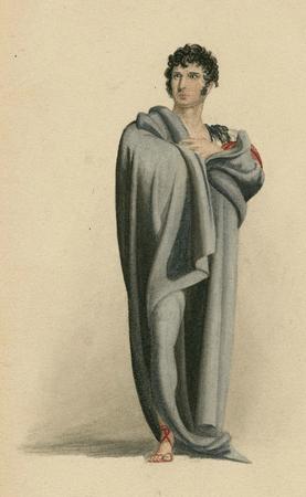 Charles Kemble as Coriolanus