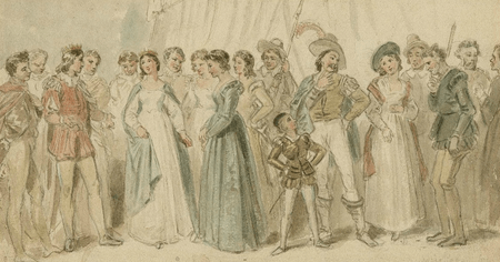 The characters of Love's Labours Lost