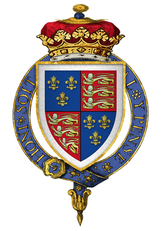 Coat of Arms of the Duke of Buckingham