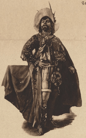 Constant Coquelin as Petruchio