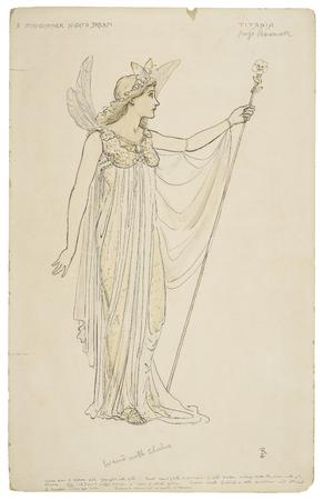 Costume design for Titania