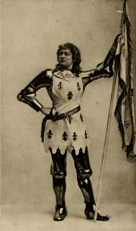 Margaret Mather as Joan of Arc