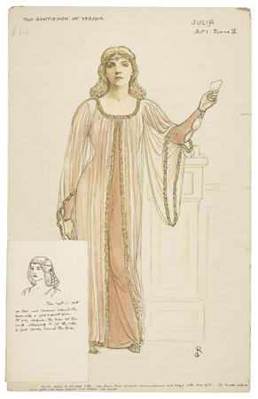 Costume design for Julia