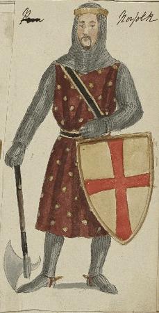 Costume design for Lord Bigot