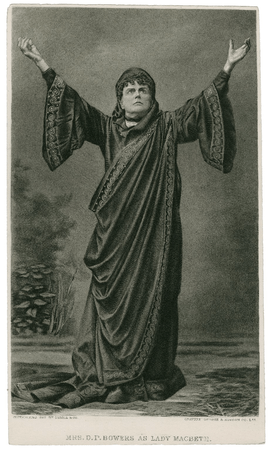 Mrs. D.P. Bowers as Lady Macbeth