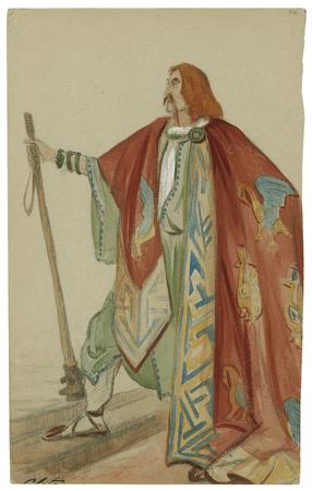 Costume design for Cloten