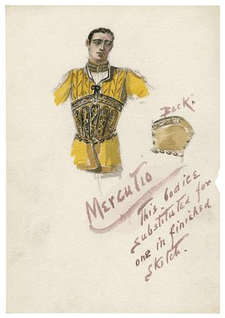 Costume design for Mercutio