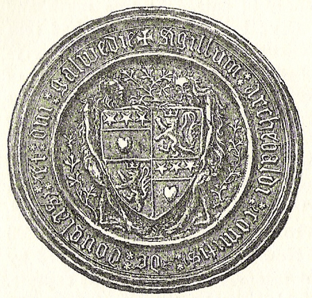 Seal of Archibald Douglas, 4th Earl of Douglas