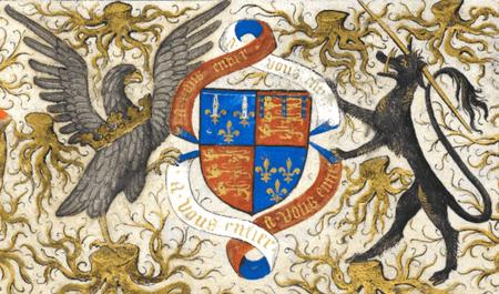 Coat of arms of John of Lancaster, 1st Duke of Bedford