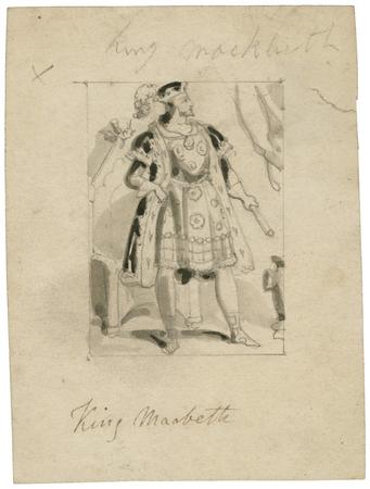 Costume design for Macbeth