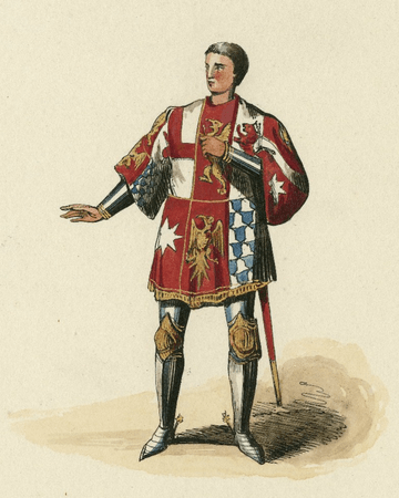 Costume design for Earl Rivers