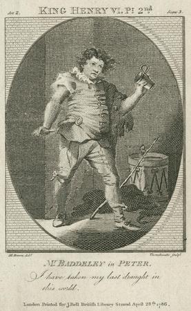 Robert Baddeley as Peter Thump