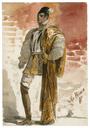 Costume design for Prince Escalus