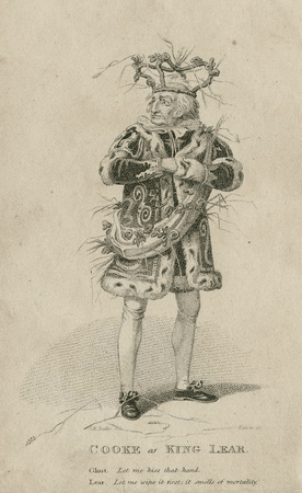 George Cooke as King Lear