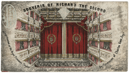 Souvenir of Richard the Second as represented at the Royal Princess' Theatre