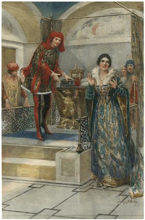 Merchant of Venice: III, 2, the casket scene