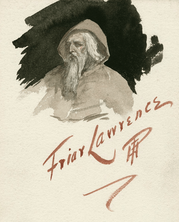 Costume design for Friar Lawrence