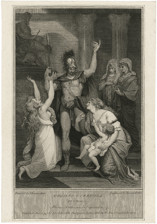 Hector, Andromache, and Cassandra