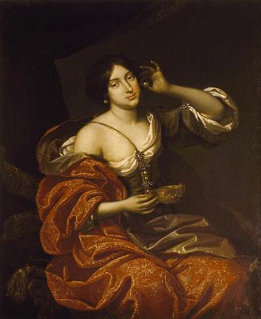Lady Felton as Cleopatra